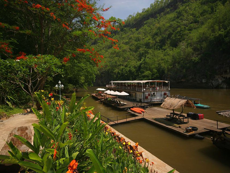 Package Tour River Kwai Resotel