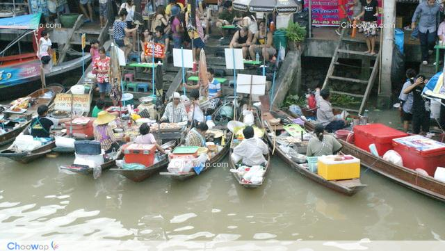 Kväll Floating Market (Start 1500 THB)
