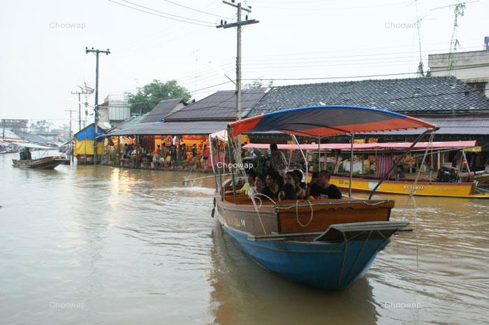 Wieczór Floating Market (Start 1500 THB)