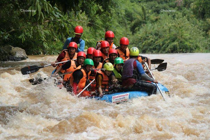 Package Tour Keg River Rafting
