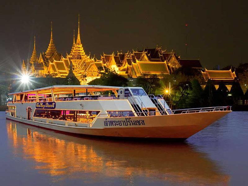 湄南河公主游船晚餐