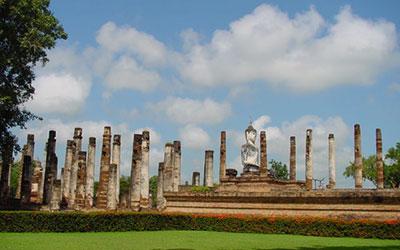 Sijainti Sukhothai