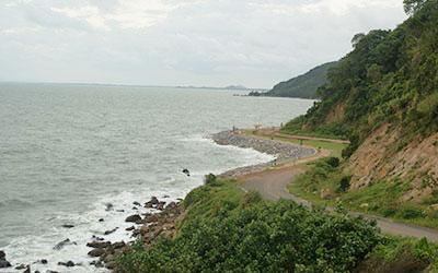 localização Chanthaburi