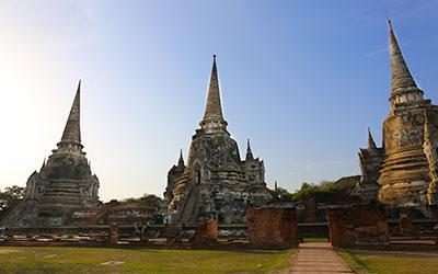 localização Ayutthaya