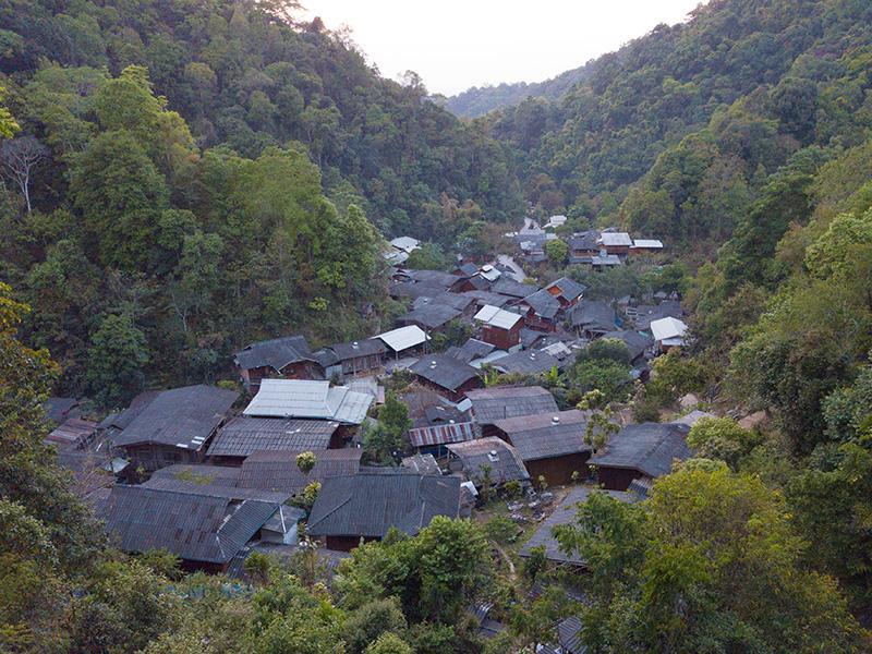 Расположение Чианг Май