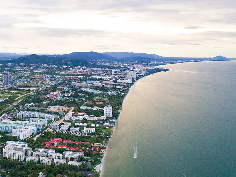 Расположение Хуа Хин