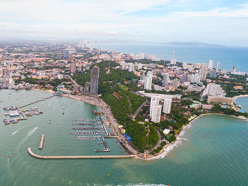 lokalizacji Pattaya