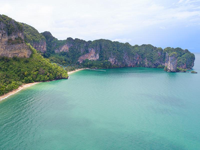 locatie Ao Nang