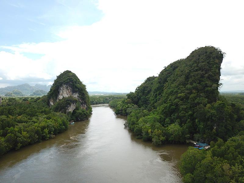 locatie Krabi