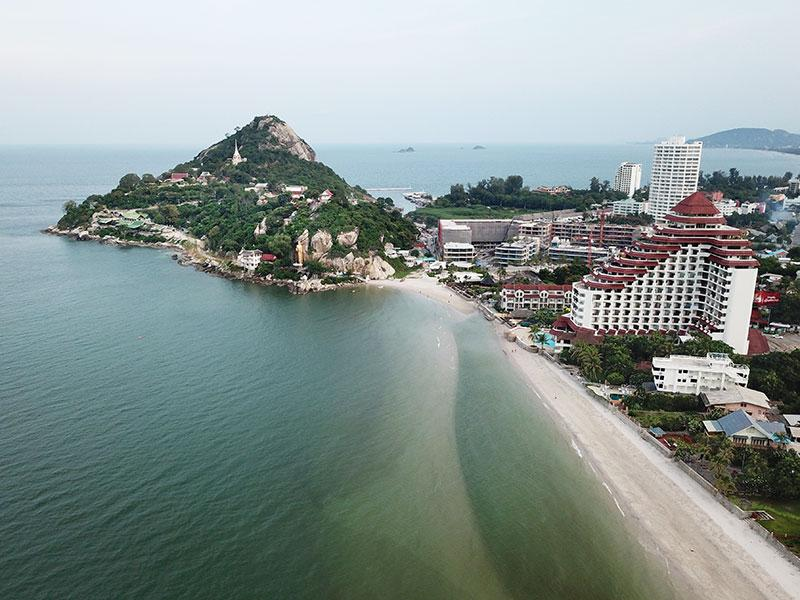 locatie Hua Hin